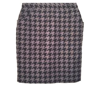 Worthington fully lined black & grey skirt